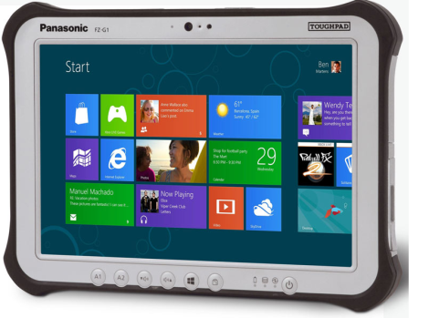 Panasonic fzg1 windows 8 pro tablet