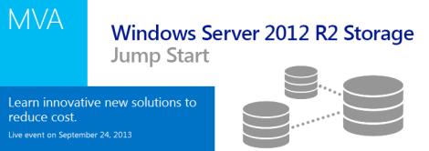 MVA Windows 2012 R2 Jumpstart